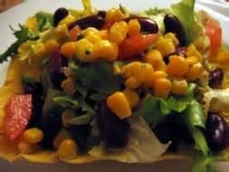 cuisine et confidences place du marché honoré salade tex mex photo de la photo du jour chez requia