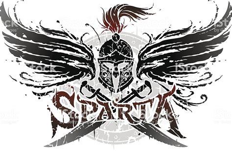 emblem vector sparta emblem stock vector 166054027 istock