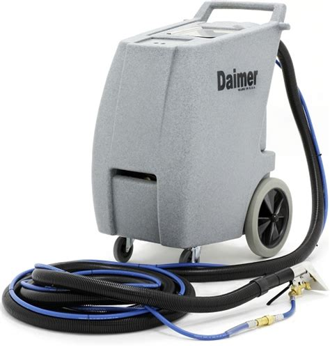 Upholstery Extractor Machine by Daimer Unveils Carpet Cleaning Machines For Transit