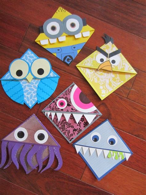 paper craft bookmarks publicado por en 7 34 pm no comments