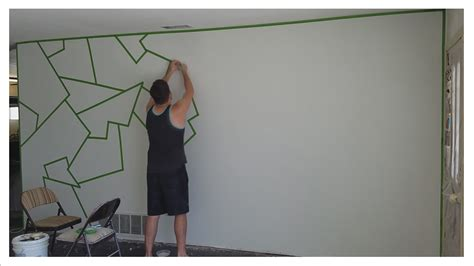 wall paint patterns how to paint almost line patterns on your wal