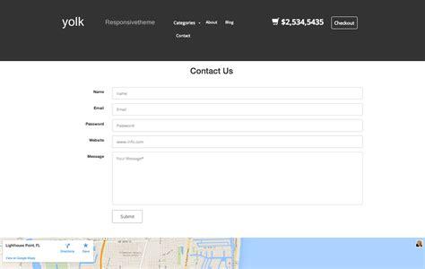 yolk html5 template free creative beacon