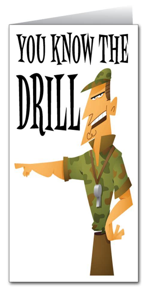 printable military jokes military drill sergeant happy birthday 80047 custom