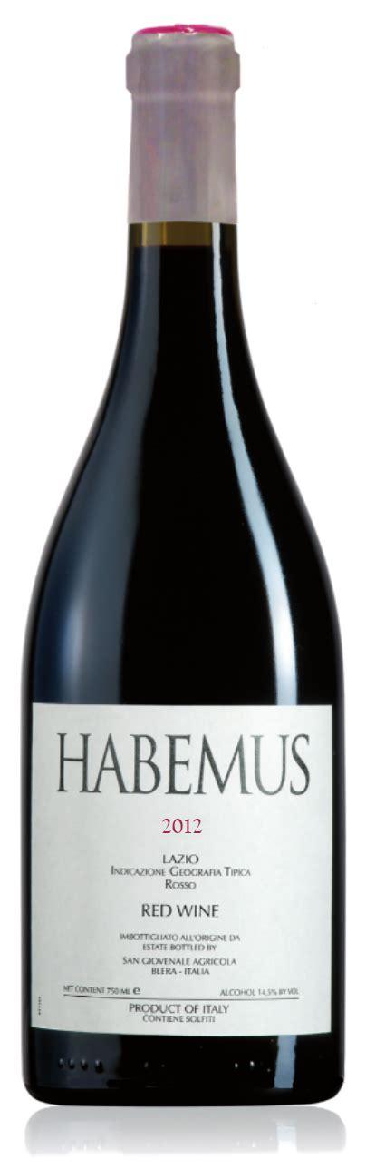 san giovenale habemus 2013 international wine report