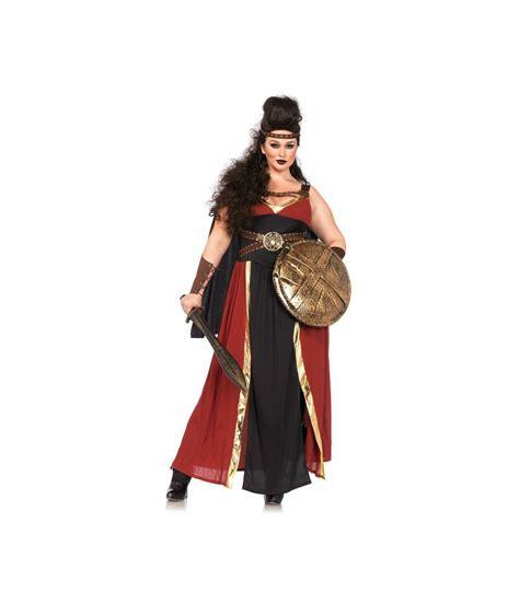 spartan warrior costume women spartan regal warrior plus size womens costume