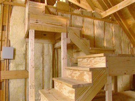 how to build stairs in a small space attics diy