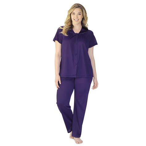 Vanity Fair Pajamas And Robes by Vanity Fair S Coloratura Sleepwear Sleeve Pajama Set 90107 Shop Your Way