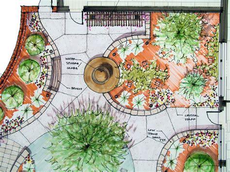 layout design of garden arte y jardiner 205 a situaci 211 n y dise 209 o del jard 205 n sombras