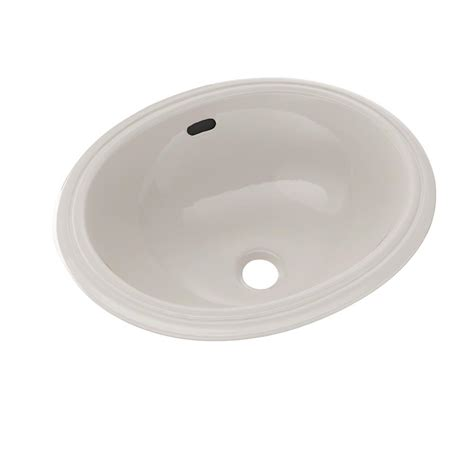 15 bathroom sink toto 15 in oval undermount bathroom sink in sedona beige