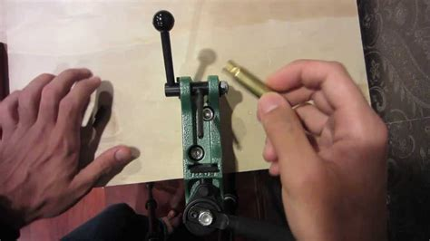 rcbs bench swager rcbs swager cartridge primer crimp removal explanation