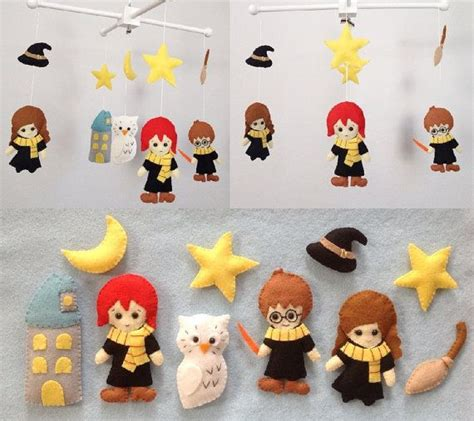 harry potter mobile baby mobile crib baby mobile nursery decor harry potter