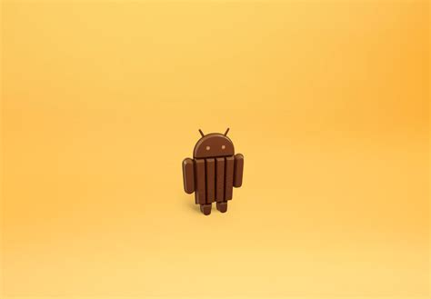 android kitkat 4 4 android 4 4 kitkat fond d 233 cran android