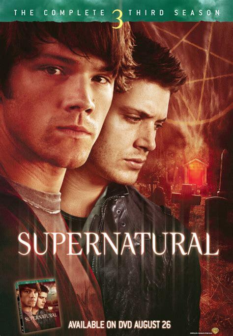 Dvd Supernatural Season 3 season 3 dvd promo supernatural photo 1425658 fanpop