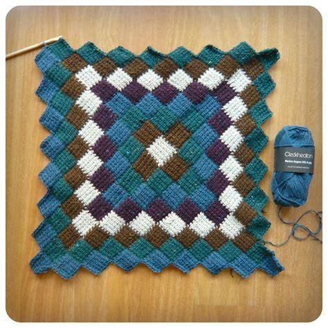 video tutorial tunisian crochet entrelac tunisian crochet blanket make a bunch of granny