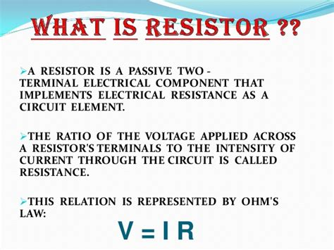 what is the purpose of source resistor and gate resistor what is the purpose of source resistor and gate resistor 28 images resistors types working