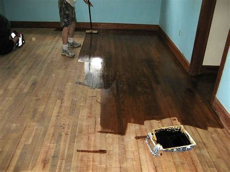 Diy Wood Floor Refinishing How To Refinish Wood Floors 11 Cool Diys Shelterness