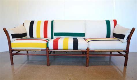 Pendleton Sofa by Arne Norell Pendleton Blanket Sofa For Sale At 1stdibs