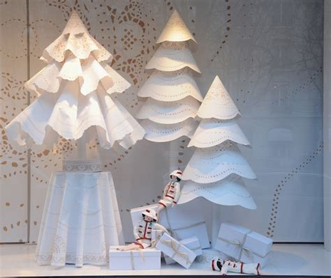 paris chanel holiday window decorations popsugar home