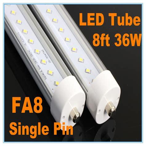 8ft led light bar lot 8ft 36w 6500k led light fa8 single pin fluorescent
