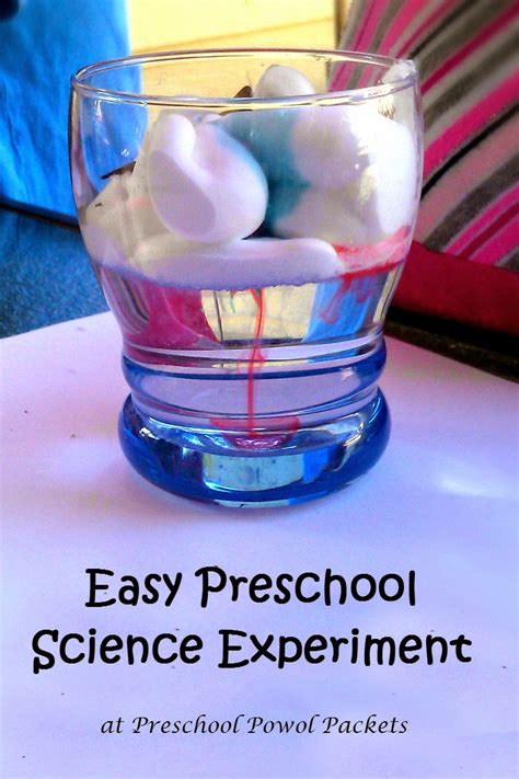 science experiments awesome preschool science experiment preschool powol packets
