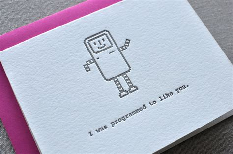 geeky card beep boop beep yes it s my coding i was programmed to