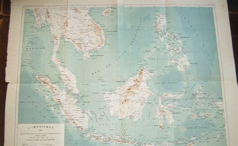 Peta Antik Batavia Jadoel koleksi tempo doeloe peta kuno indonesia th 1889 pada