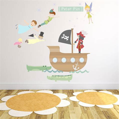 pan fabric wall stickers by littleprints