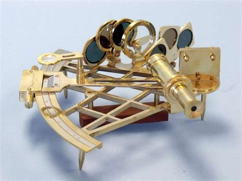 sextant quantity buy admiral s brass sextant with rosewood box 12 inch