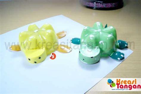 tutorial kerajinan tangan dari barang bekas membuat mainan dari botol bekas diy craft pinterest