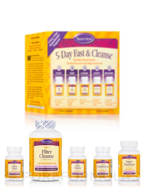 5 Day Detox Cleanse Kit by 5 Day Fast And Cleanse Kit