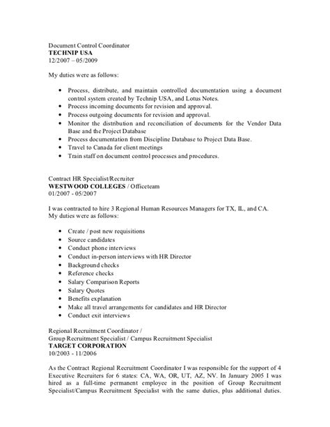Sle Resume Documentation Specialist Quality Documentation Specialist Resume 28 Images Cover Letter And Resume Sle Resume