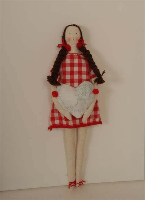 Handmade Fabric Dolls - handmade fabric doll dolls