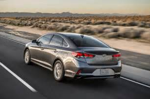 Hyundai Sontat Hyundai Gives 2018 Sonata A Midcycle Refresh Ny Daily News