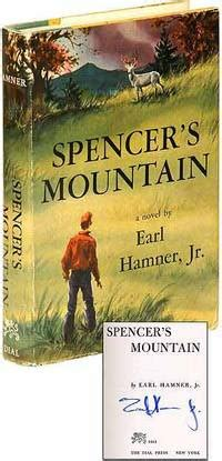 spencer s mountain by jr earl signed edition