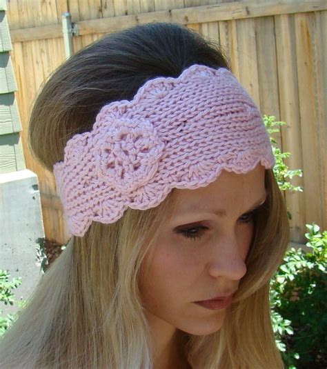 free pattern knitted headband free knit headband pattern