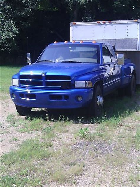 old car manuals online 2000 dodge ram 3500 interior lighting sell used 2000 dodge 3500 quad cab 2wd dually cummins 6 speed manual in east leroy michigan
