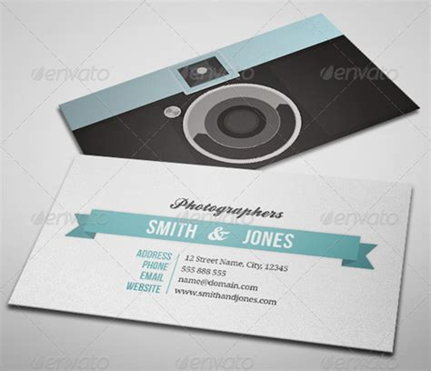 portrait business cards templates 15 creative photography business card templates