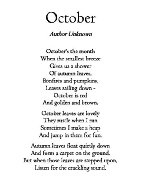 Fall Poems for Visualizing by Maverickb | Teachers Pay