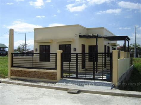 house design in philippines modern bungalow house