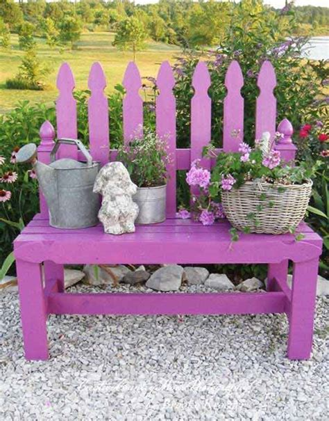 creative bench ideas 18 creative garden ideas for used furniture as garden