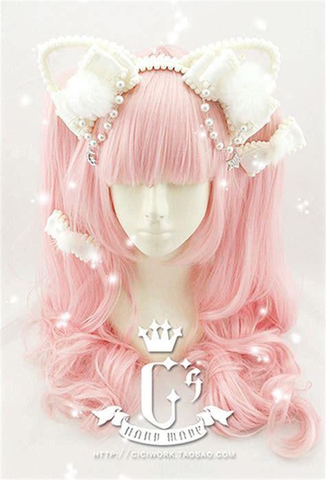 cute cat ear lolita hair accessory  ciciworktaobao