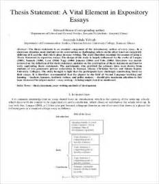 expository essay thesis exles expository essay template 9 free word pdf documents