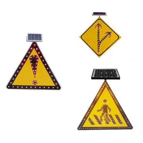triangle rubber st road safety solar traffic warning triangle sign buy
