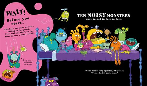ten in the bed book ten monsters in the bed book by katie cotton aaron blecha official publisher page