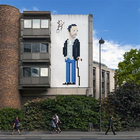 buy a house in paris france quot pa 1205 dr house quot by invader in paris france streetartnews streetartnews