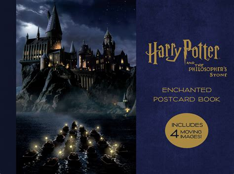 harry potter and the sorcerer s enchanted postcard book books harry potter and the philosopher s enchanted