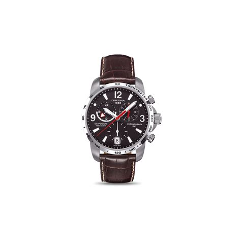 Certina Ds Podium Big Size Chrono C0016472205700 certina watches ds podium big size chrono gmt c0016391605700