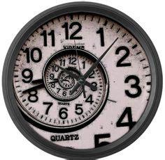spiral clock face cool stuff pinterest clocks on pinterest vintage clocks old clocks and