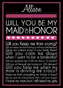 Maid Of Honor Asking Ideas Bridesmaid Card By Belisariophotography On Etsy Wedding Everything Pinterest Awesome Too