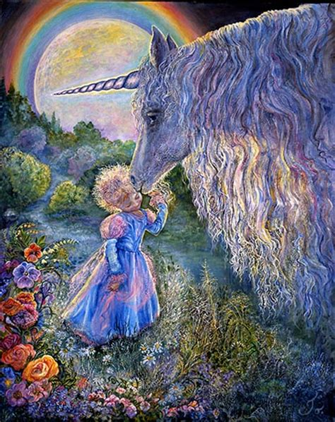 Fairy Princess Wall Mural josephine wall unicorn kiss